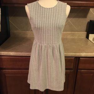 Loft Sleeveless Dress size 0 Petite zipper back